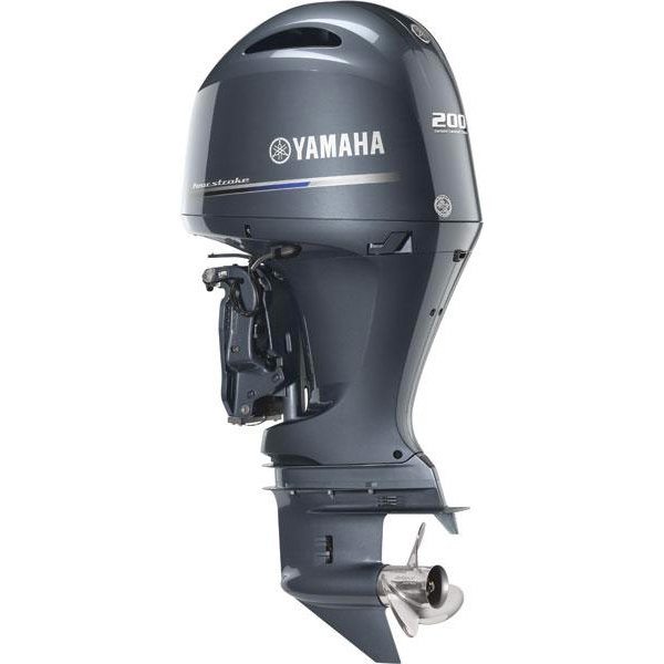 Yamaha-200HP-In-Line-Four-Four-Stroke-Outboard-Motor